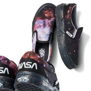 Kids Vans x NASA Slips